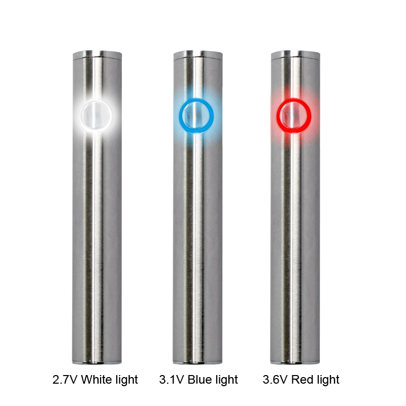 Max C8 Preheating VV Battery 650mAh Adjustable Voltage With Thick Oil Vaporizer Vape Bottom Charging Electronic Cigarette Kits (5)