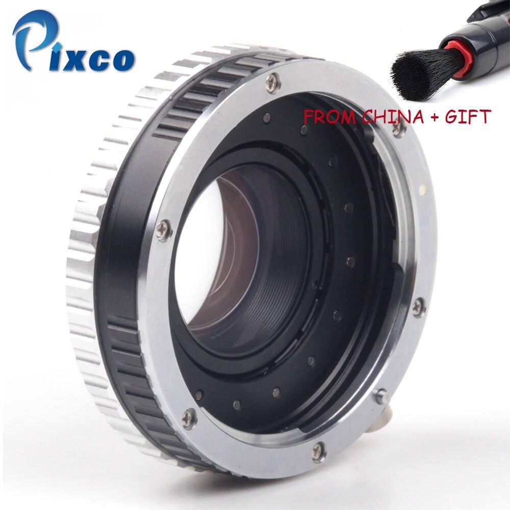 ADPLO DropShipping Pour EOS-M4/3 Focal Réducteur Vitesse Booster Costume pour EOS Lens pour Costume pour Micro Quatre Tiers 4/3 Caméra Pour Panas