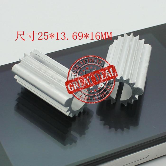 Free Shipping Wholesale 100PCSc Aluminum Heatsink Round Sunflower Led Heatsink 15*20*16MM High Quality Radiator Block
