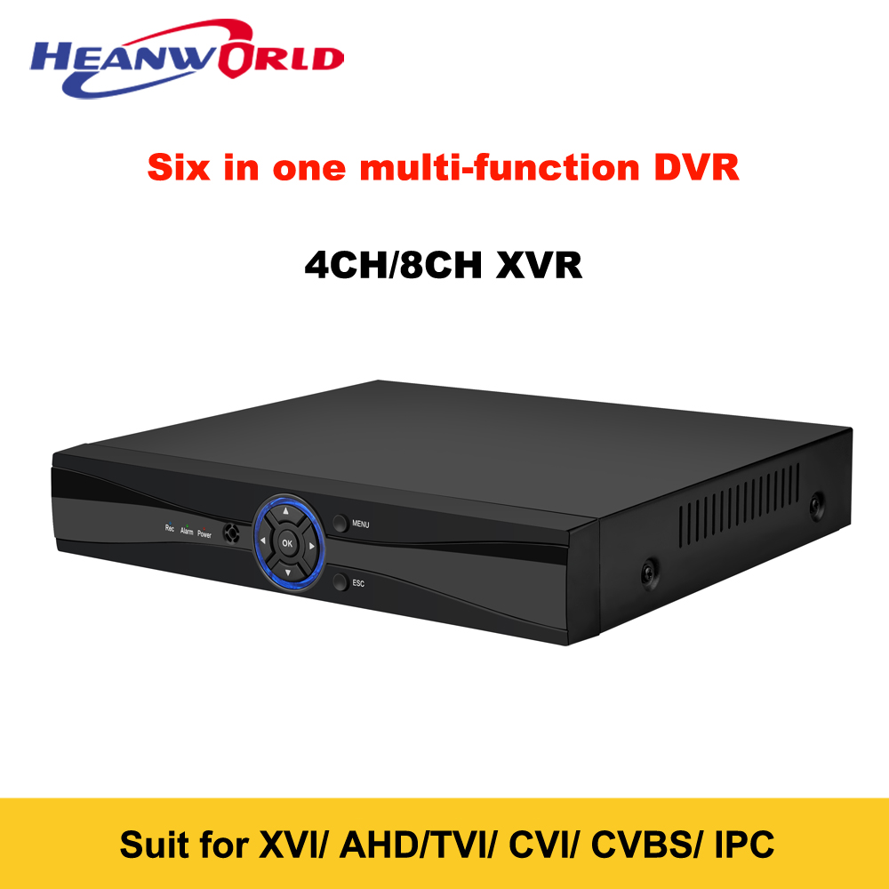 New TVI CVBS CVI AHD IP CCTV DVR NVR 4CH 8CH 1080P Hybrid Digital Video Recorder SATA ONVIF For Network IP Camera CCTV Camera ninivision 8ch ahd 1080p dvr hybrid dvr 1080p nvr video recorder ahd dvr for ahd analog camera ip camera tvi camera cvi camera