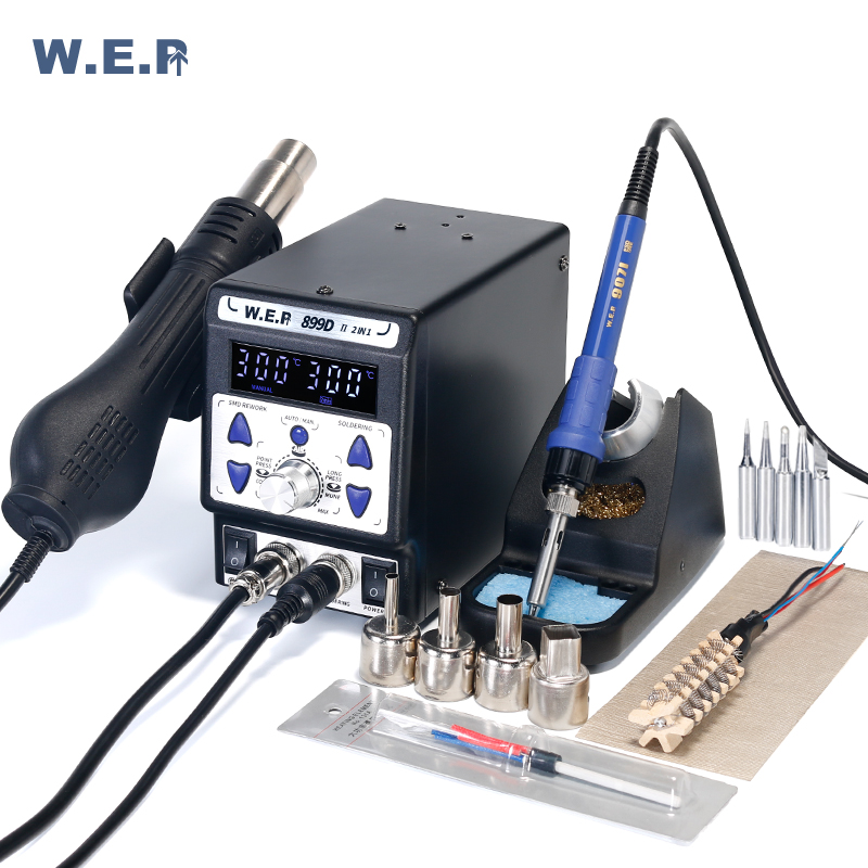 WEP 899D II 8786D Upgraded Version Solder Rework Station BGA Digital Display SMD Soldering Station