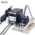 WEP 899D-II 8786D обновленная версия наладочная станция для пайки BGA цифровой дисплей SMD паяльная станция
