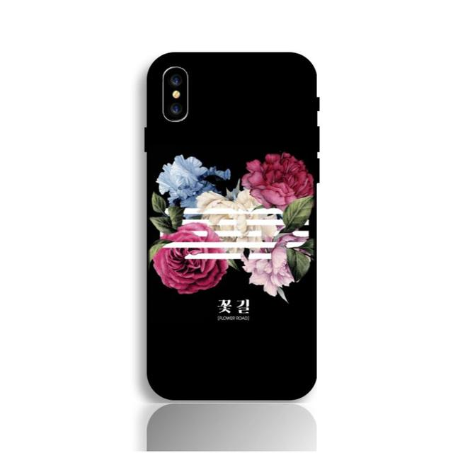 BZWGL KPOP BIGBANG Flower Road phone case for iPhone X 8 7Plus 7 6sPlus 6s 6Plus 6 5 5S SE Soft cover
