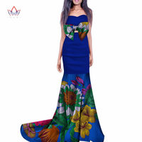 2018 summer african dress for women plus size Dashiki african long dresses for women in african print clothing 7xl other WY261