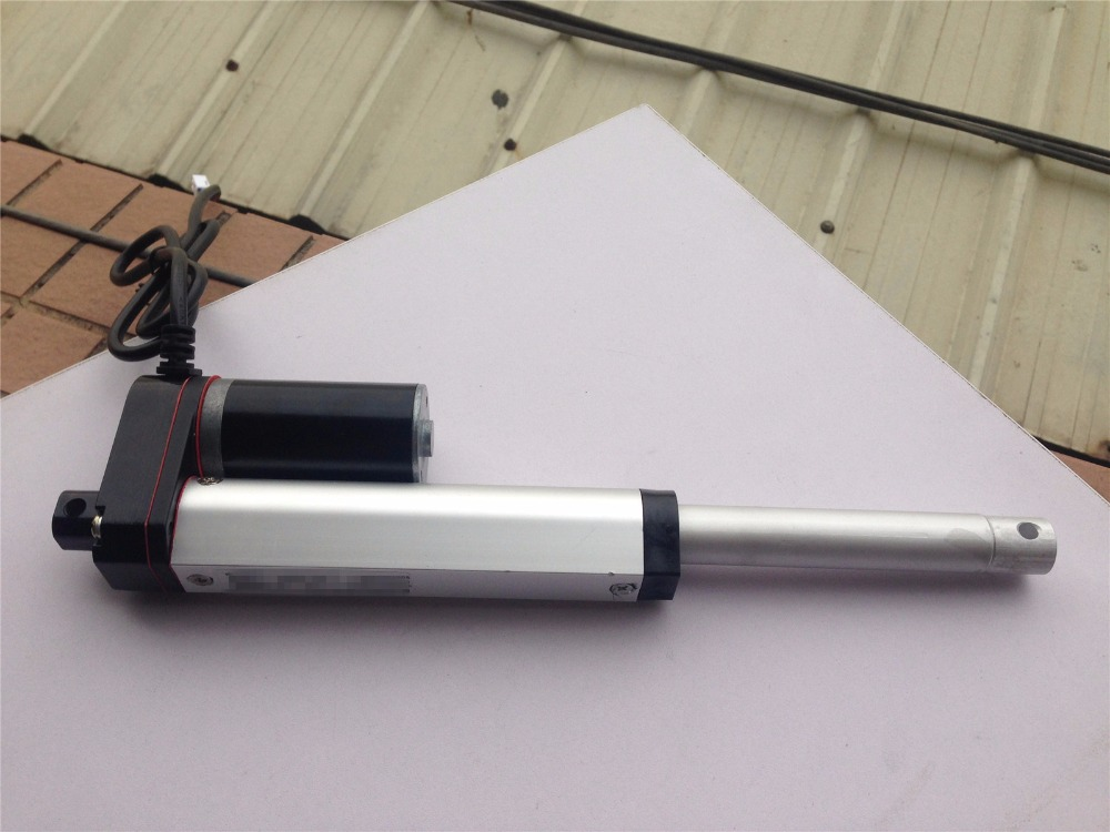 Stroke 4'' Heavy Duty Linear Actuator 10mm/s DC 24V Max Lift 330lbs for Stage machinery mitsubishi heavy srk28hg s