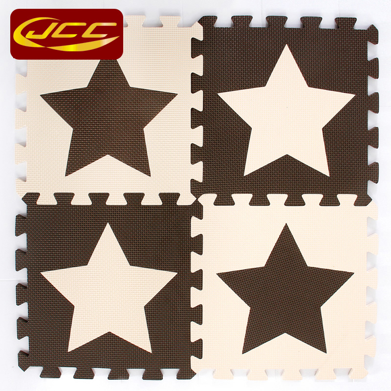 JCC dječja EVA pjena puzzle igra mat / 10pc djeca Star tepisi - Igračke za bebe i malu djecu - Foto 5