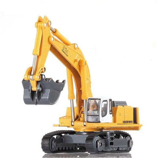 Alloy Excavator Bulldozer Crane Truck Mixer Calender Forklift 1:87 KDW Alloy Diecast Truck Model Rotates 360 Degrees Model Toys