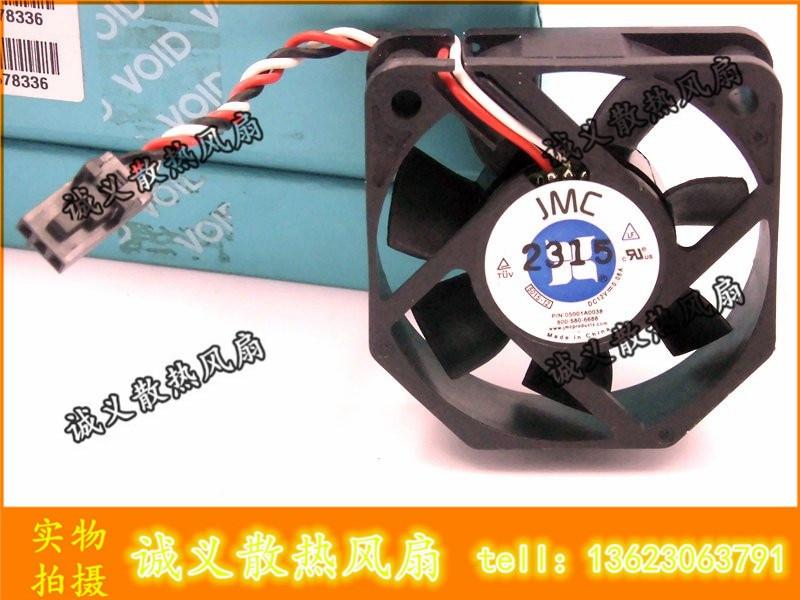 Envío gratis! JMC 5015 ventilador 5015-12 12V 0.08A ultra silencioso el ventilador de enfriamiento del chasis de la CPU 05001A0038