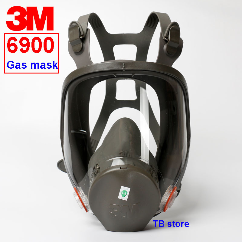 3M 6900 respirator Full face mask L code 3M original 6900 Big mask Spray paint Chemical treatment dedicated respirator gas mask kitmmm6094mmm8200 value kit scotch photo mount spray adhesive mmm6094 and 3m n95 particle respirator 8200 mask mmm8200