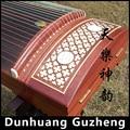 Китайский палисандр guzheng Dunhuang Китай Профессиональная игра 21 струнный инструмент музыкальный традиционный этнический Zither Zheng 694KK