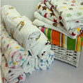 Бесплатная доставка Хлопок Муслин Детские Пеленает Конверт Детское Одеяло Детские Мягкие ребенка полотенцем новорожденных одеяла Простыня 110X110 см