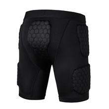 2017 YEL New Crashproof Honeycomb Men Sport Protective Set Basketball Shooting Cycling Armor Vest Shorts Sportwear Sport Safety