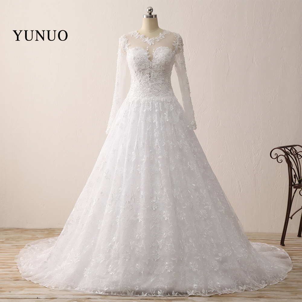 Buy romantic wedding dress ball gown lace for Simple romantic wedding dresses