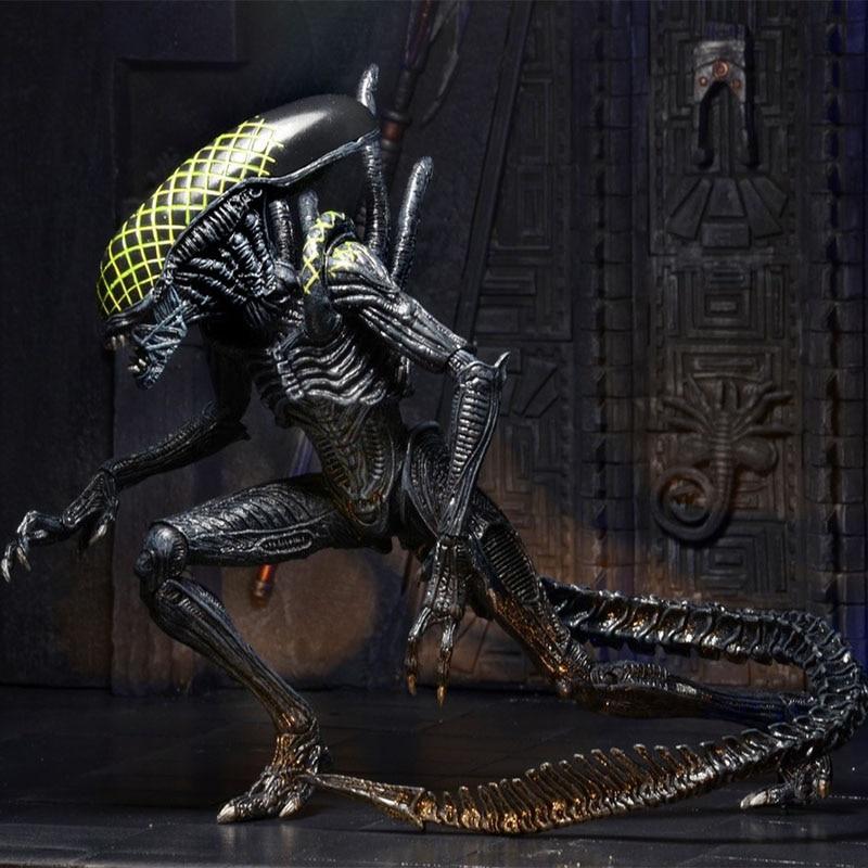 Alien VS. Predator Neca Action Figure AVP Grid Warrior Alien Xenomorph | 18cm