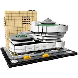 10679 di Architettura Costruzione Set Solomon R. Guggenheim Museo 21035 Modello di Mattoni Building Block Toy Compatibile Con Legoings