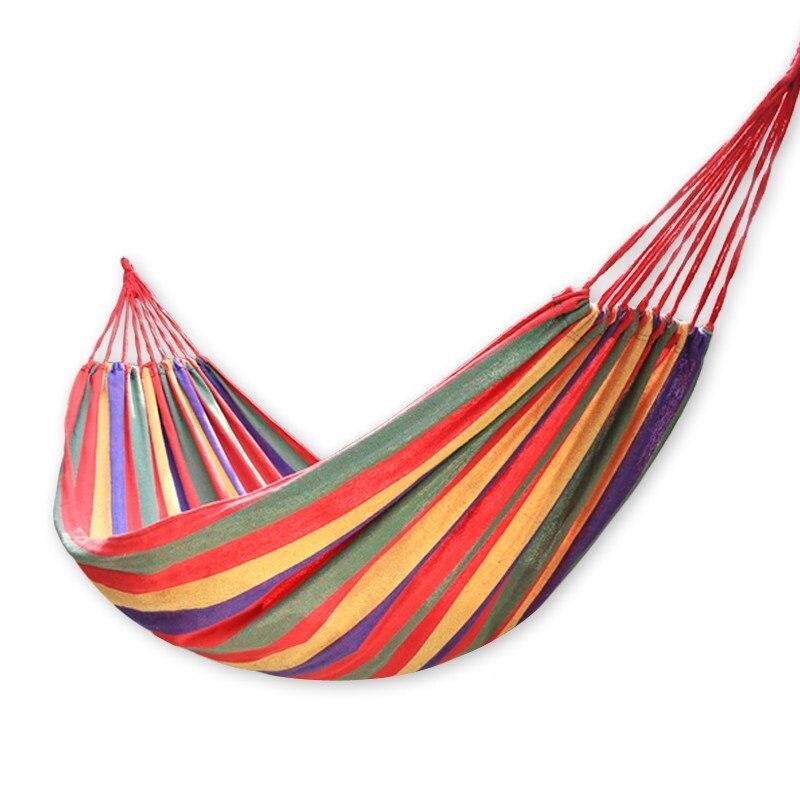 Outdoor canvas hammock double hammock hanging swing leisure bedroom hammock cradle chair Outdoor swing цена