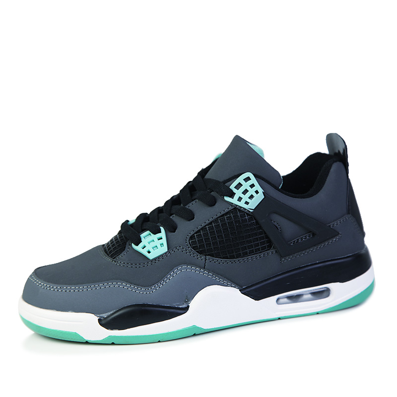 Man High top Basketball Shoes Men s Cushion Retro Basketball Sneakers Anti skid Breathable Outdoor Sports