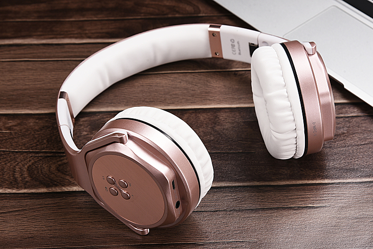 Foldable 2 in 1 Wireless Headphones Bluetooth Speaker Stereo Sport Headset Portable Gaming Big Earphone For Mobile Phones USB PC