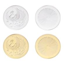 Новая памятная монета Япония Феникс Золото Серебро коллекция подарок сувенир ремесла Искусство#20/28L