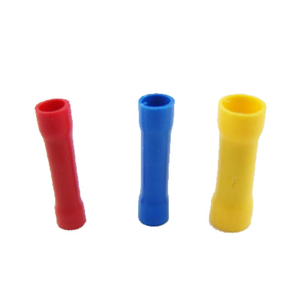 FREE Shipping Hot Sale EA14 200pcsSplice Insulated Straight Wire Butt Connector Electrical Crimp Terminals Electrical Contacts