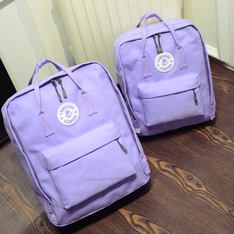 ФОТО 2017 New Arrival Preppy Style Canvas Women Backpacks Big Size Fashion School Bag Travel Backpack Computer Bag