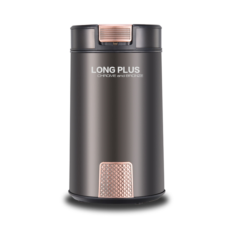 Warmtoo 12W 8 Second Rapid Electric Coffee Grinder Household Grains Bean Grinding Machine With Stainless Steel Blades cukyi 110v 220v household electric coffee roasters 40w power stainless steel coffee bean roasting machine