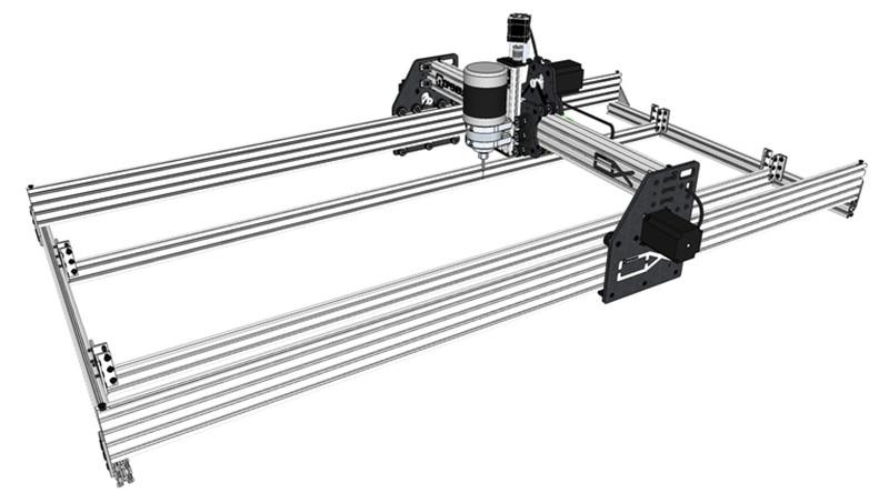 Diy Ox Cnc Machine Mechanical Kit Ox Cnc Router Large Cnc