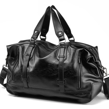 男性のハンドバッグの革大容量トラベルバッグファッションショルダーバッグ男性トラベルダッフルトートバッグカジュアルメッセンジャークロスボディバッグ