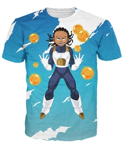 Dragonball Z Super Saiyan 3D Print T-shirt