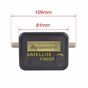 Image 4 - Satellite Finder Finden Ausrichtung Signal Meter FTA DIREC TV Satellite Rezeptor für Sat Dish TV LNB Direc Digital TV