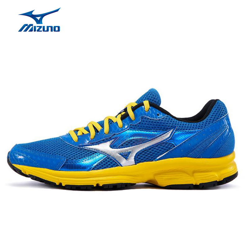 MIZUNO Sneakers Men's Mesh Beathable Cushioning Sports Shoes CRUSADER 9 Stability Light Running Shoes K1GR150372 XYP266 mizuno men s sports beathable cushioning soccer shoes monarcida fs as light sport shoes sneakers p1gd152301 yxz003