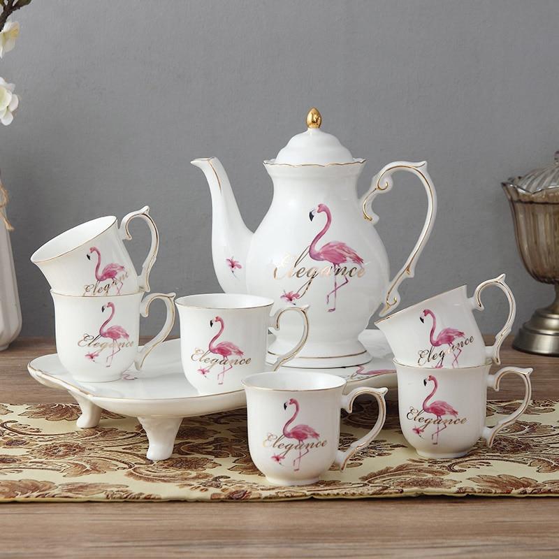 Asian tea pot set