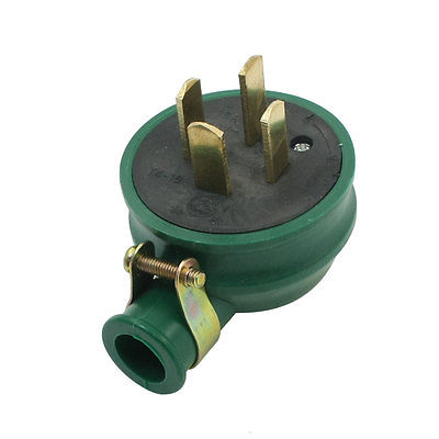 16A AC 440V Three 3 Phase Four 4 Wire Wiring Industrial Plug Green brand new authentic mds100f 16 ling 100a 1600v made four three phase rectifier diode modules