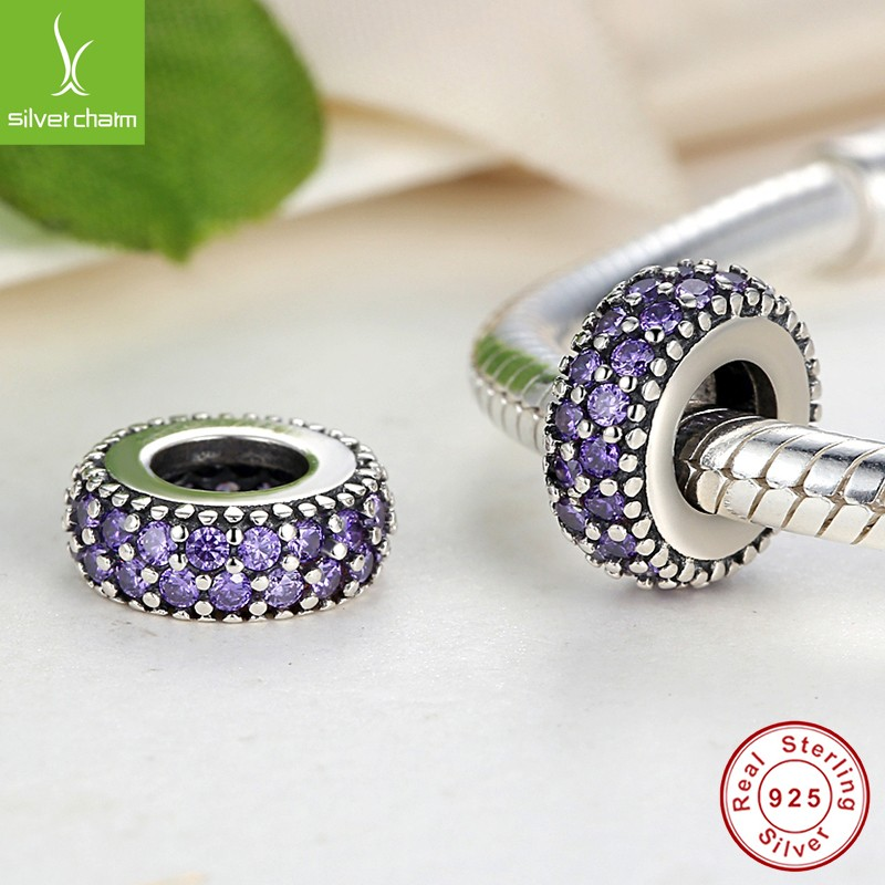 100 925 Sterling Silver Inspiration Spacer Charm Beads