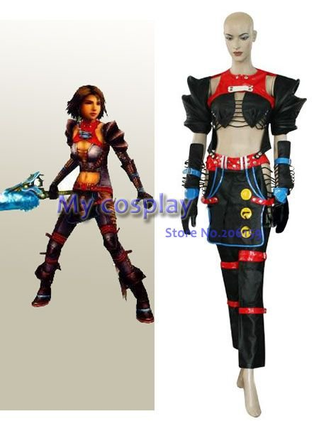 Anime Final Fantasy Cosplay-Final Fantasy X-2 guerrier Yuna femme Performance Costume Cosplay Costume livraison gratuite