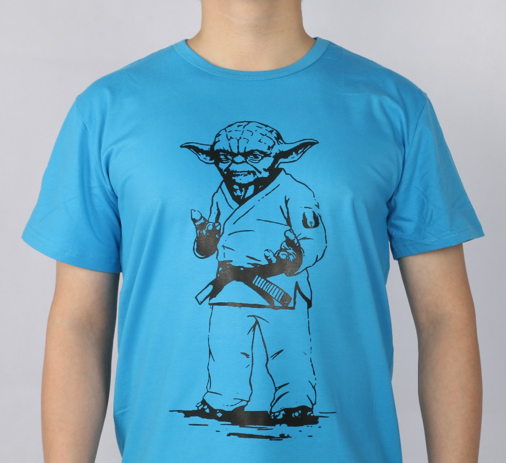 STAR WARS yoda JUDO JIU JITSU T-shirt Κορυφαία λουράκι - Ανδρικός ρουχισμός - Φωτογραφία 2