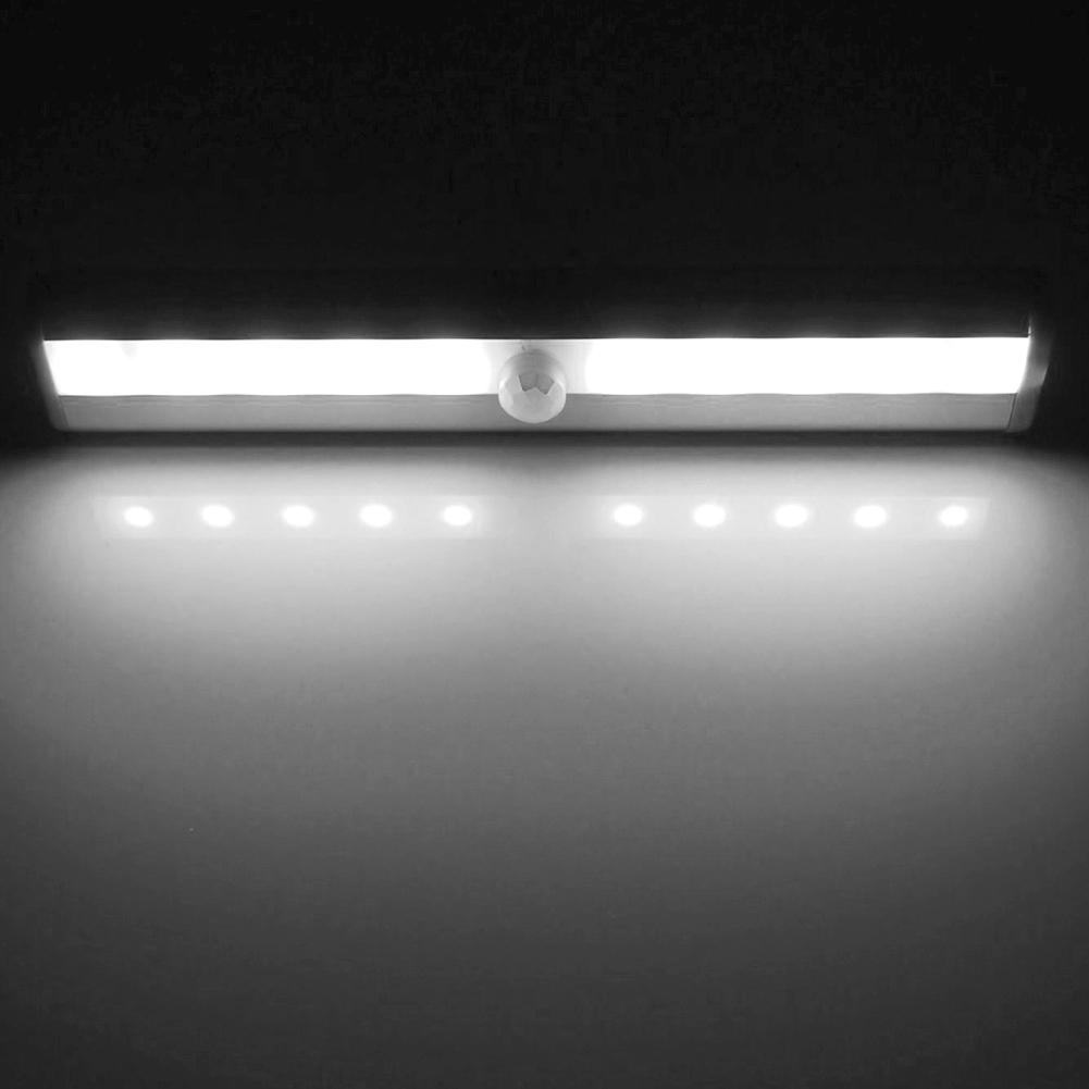 10LED Motion Sensor Light Wireless Infrared Home Indoor Outdoor PIR Auto Sensor Motion Detector LED Night Light Lamp 2 styles in LED Night Lights from Lights Lighting