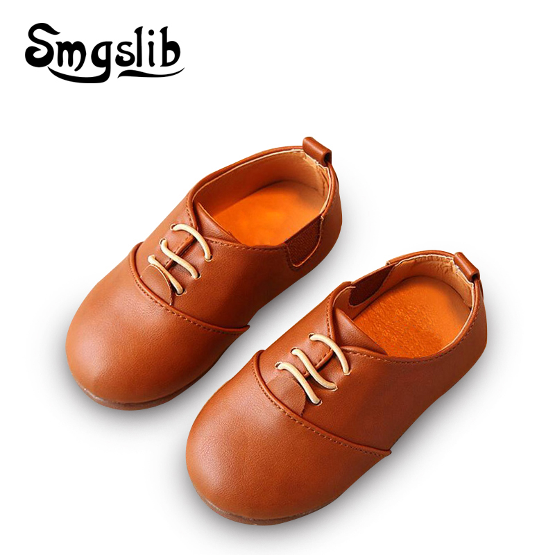 Kids Shoes Boys PU Leather Shoes Kids Moccasin Loafers Toddlers Casual Single Flats Sneakers Casual Loafers Shoes for Girl