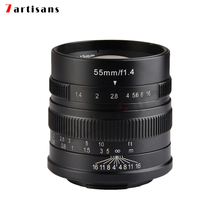 7artisans 55mm/f1.4 Manual Fixed camcorders professional Lens Large Aperture Portrait Black for Fujifilm FX mount X-Pro2 T10 T2 patriot pa 445 t10 x treme