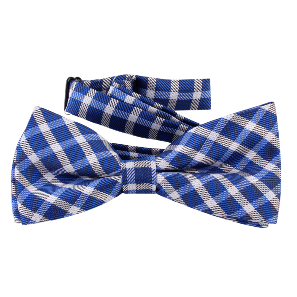 Fashion Kids Children Boy Student Bow Tie Cotton Plaid Party Shirt Bowties Baby Kid Classical Striped Bow tie Wholesale