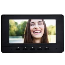 "New 7"" TFT-LCD Color Video DoorPhone Intercom Phone Indoor Monitor Unit Screen Without IR Camera Video Door Bell For Home"