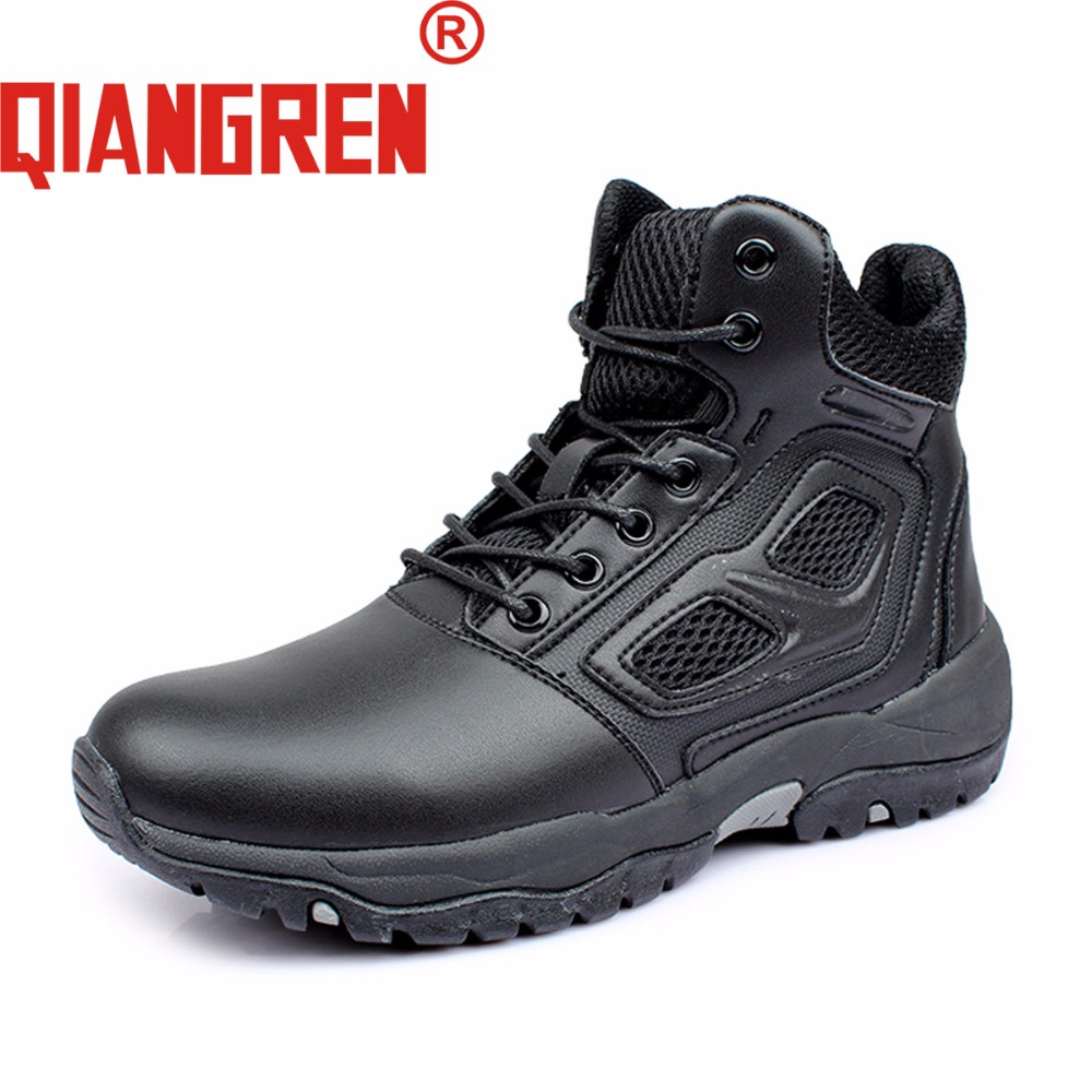Work & Safety Boots Brave Mens Steel Toe Cap Work Safety Shoe Genuine Leather Casual Anti-kick Footwear Outdoor Puncture Proof Boot Size 35---45 Clients First