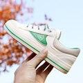 Горячая Бесплатная доставка 2017 весна новая мода женская обувь повседневная квартиры холст хлопок простой женщины случайные белые туфли