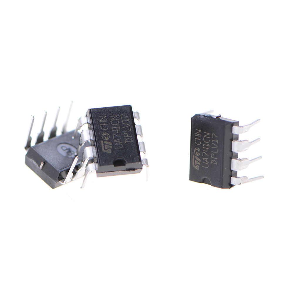 Горячая распродажа 10 шт. UA741CN LM741 741 операционный усилитель звука операционный усилитель DIP-8 IC