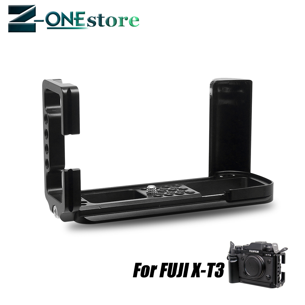fujifilm cvr xt3 Vertical L Plate Type Bracket Tripod Quick Release Plate Base Grip Hand For Fujifilm XT3 Fuji X-T3 Camera ball head
