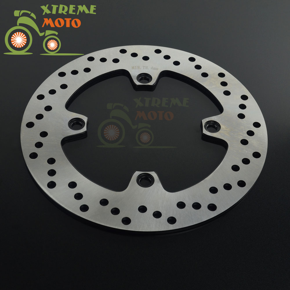 250mm Rear Brake Disc Rotor For SUZUKI AN650 Burgman 650 2002 2003 02 03 2 front 1 rear sets brake pads fits suzuki burgman 650 an650 2003 2014 free shipping