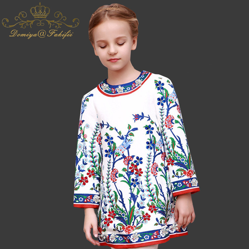 Girl Dress Princess Costume 2018 Brand Long Sleeve Christmas Dresses Kids Clothes Rose Flower Robe Fille Rapunzel Children Dress new year girl dress princess costume long sleeve christmas dresses red kids clothes flower bow robe fille children vestido 4 11y