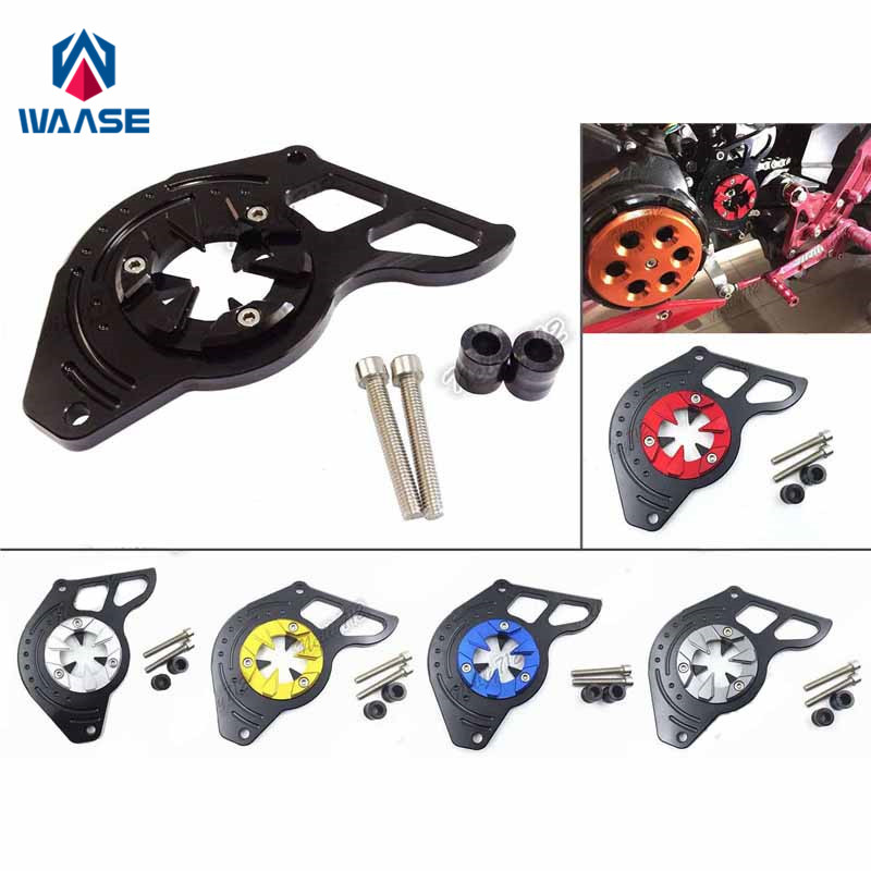 waase Motorcycle Front Sprocket Chain Guard Cover Left Side Engine For Honda Grom MSX125 125SF MSX 125 SF 2013 2014 2015-2019
