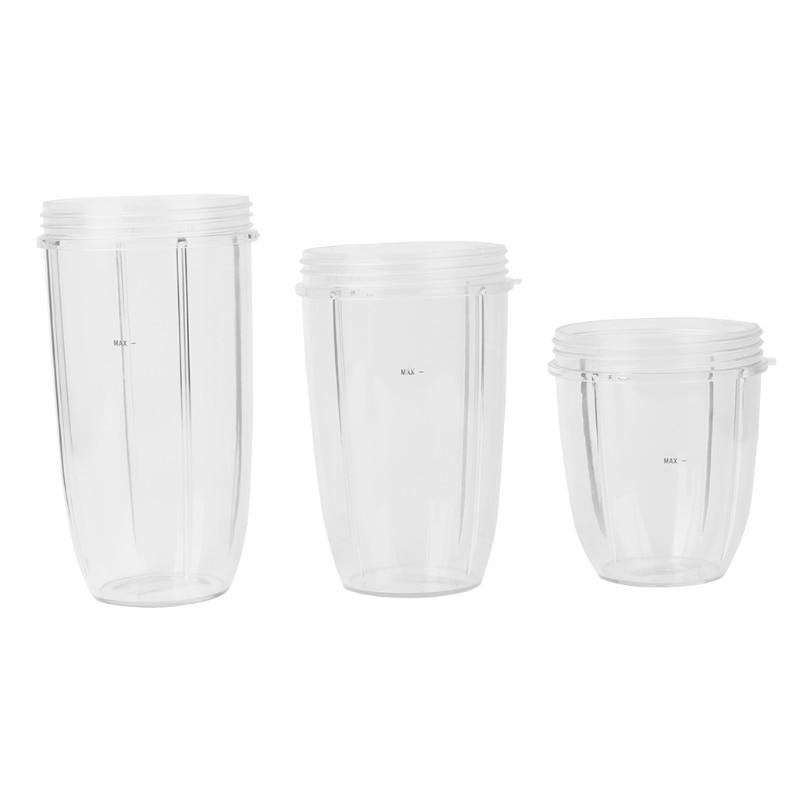 Juicer Cup Mug Clear Replacement For NutriBullet Nutri Bullet Juicer 18/24/32OZ Drop Ship No28Juicer Cup Mug Clear Replacement For NutriBullet Nutri Bullet Juicer 18/24/32OZ Drop Ship No28