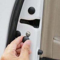Qhcp fechadura da porta do carro protetor de parafuso capa adesivo anti ferrugem proteção à prova d12 água abs 12 pçs para subaru forester outback legado xv|Capa de proteção para fechadura| |  -